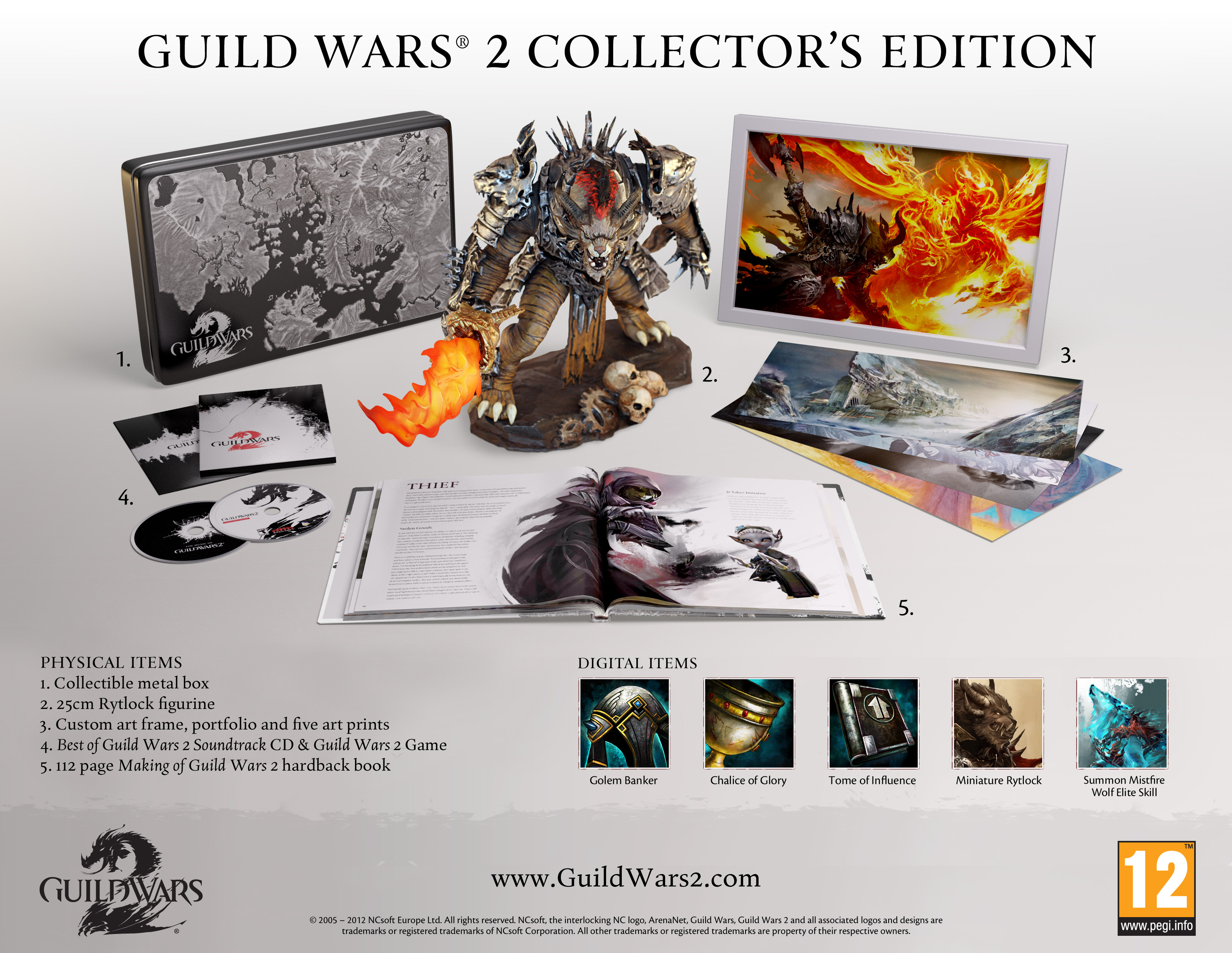 Guild Wars 2 Collector's Edition Content Revealed
